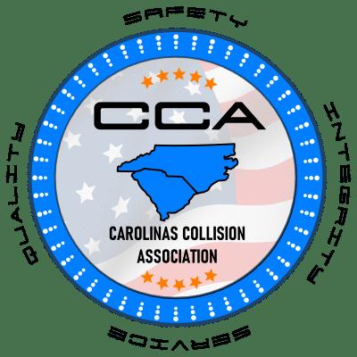 carolinas collision association-badge